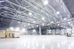 upgrade warehouse lighting to LED high bay lights